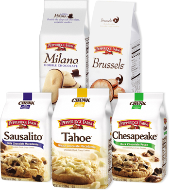 Pepperidge Farm. 85, likes · talking about this. Pepperidge Farm® has been making exceptional cookies, crackers, breads and more for 75 years.