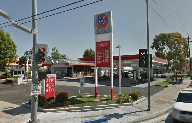 established union 76 station car wash with land