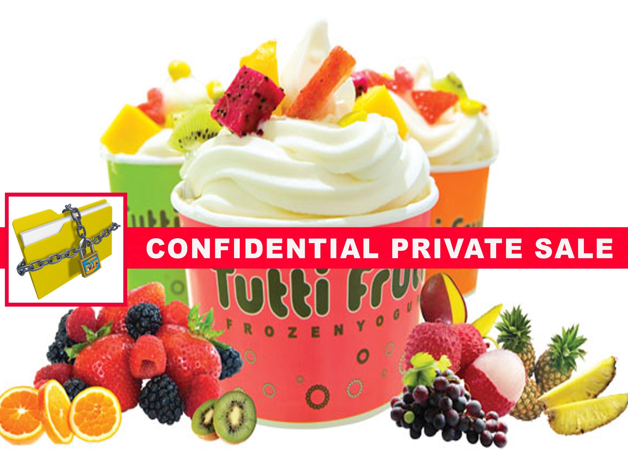 tutti frutti frozen yogurt franchise san diego