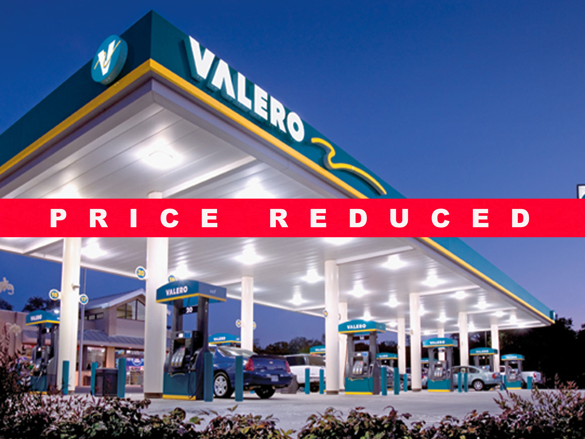 Newly remodeled valero gas station auto repair biz for Www builder